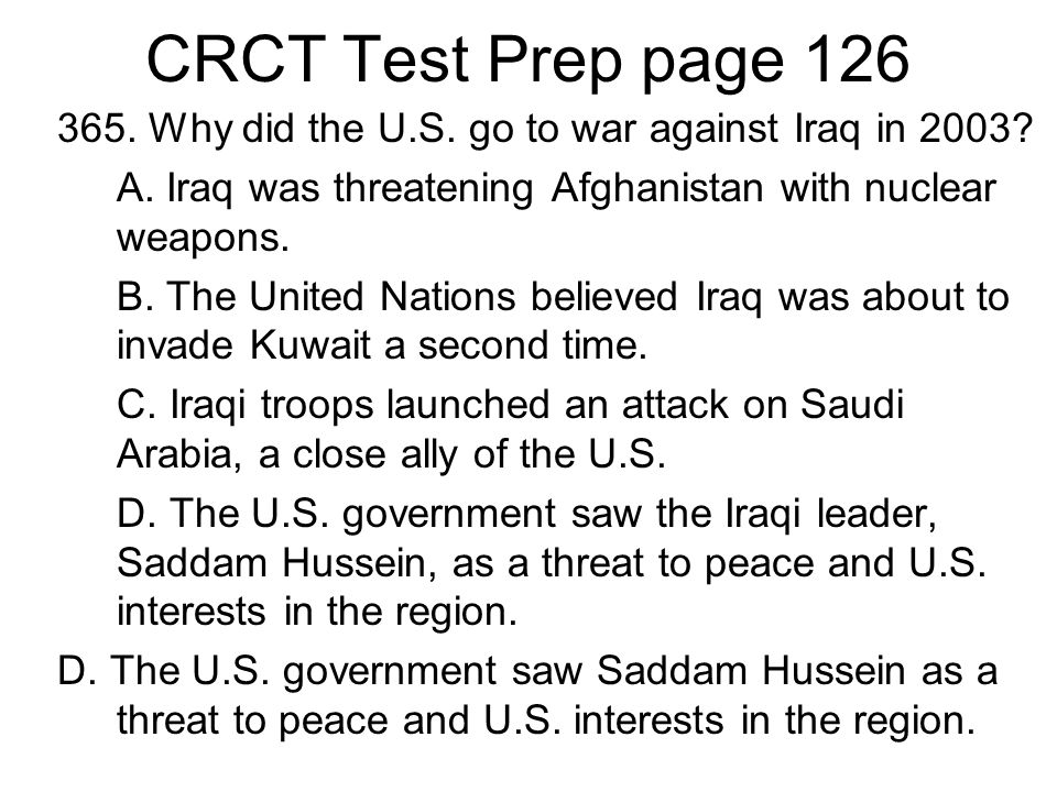 CRCT Test Prep page 126