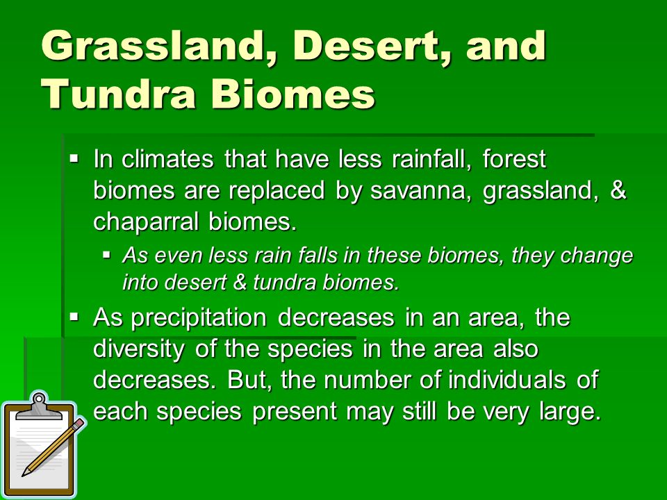 Grassland, Desert, and Tundra Biomes