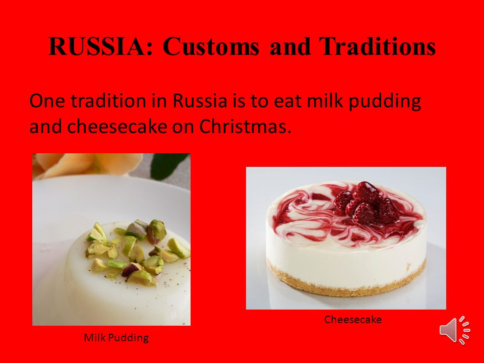 RUSSIA: Customs and Traditions