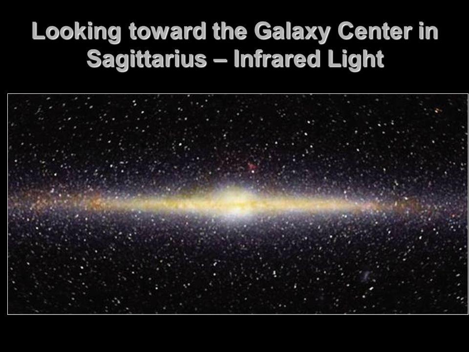Looking toward the Galaxy Center in Sagittarius – Infrared Light