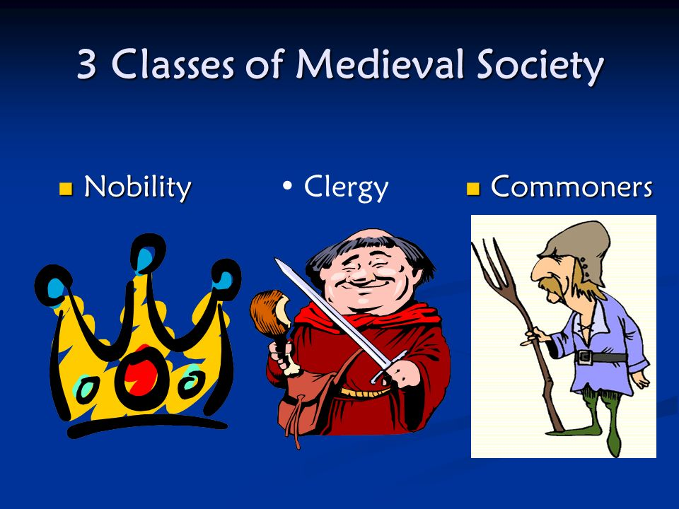 3 Classes of Medieval Society