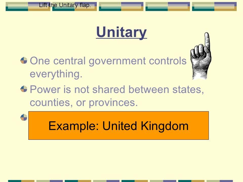 Example: United Kingdom