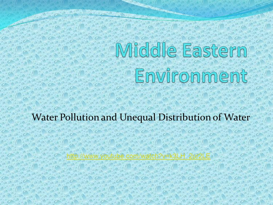 Middle Eastern Environment