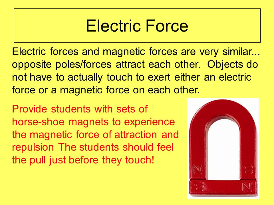 Electric Force