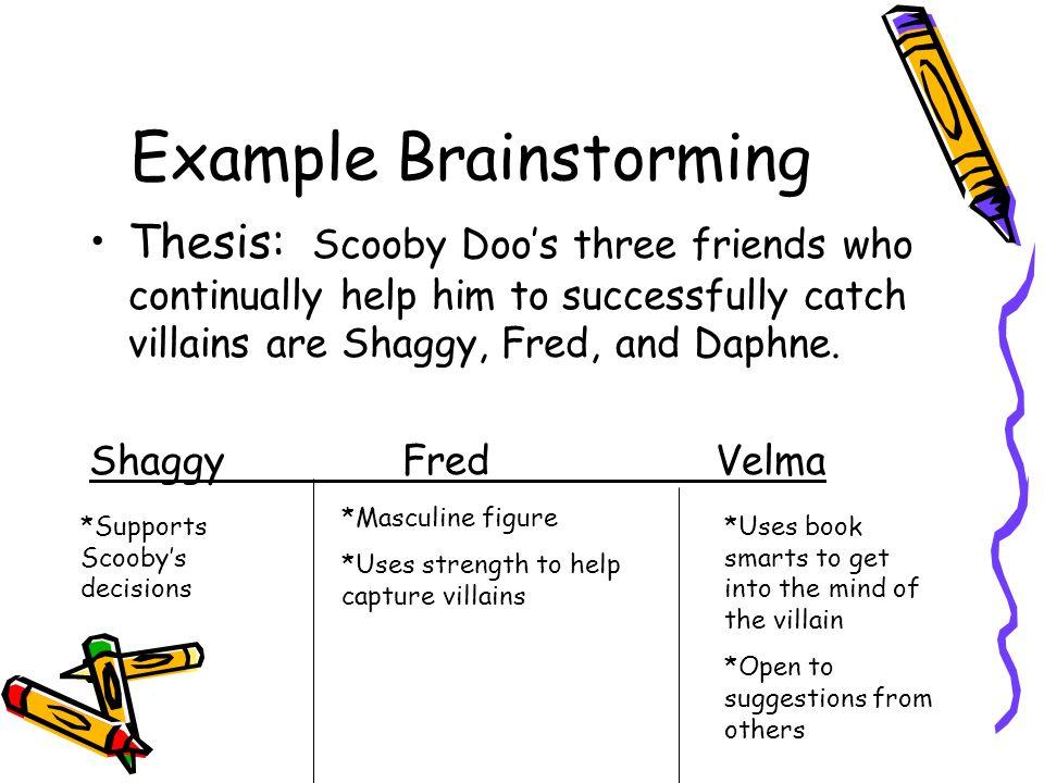 Example Brainstorming