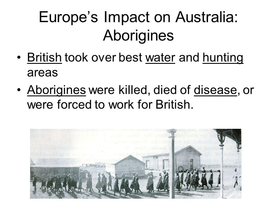 Europe's Impact on Australia: Aborigines