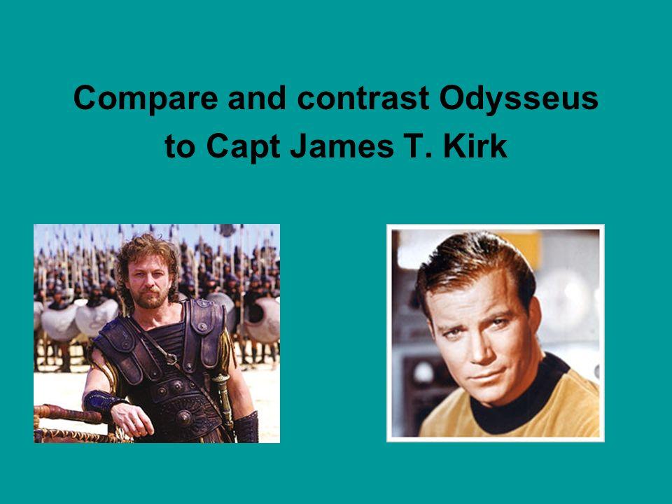 Compare and contrast Odysseus