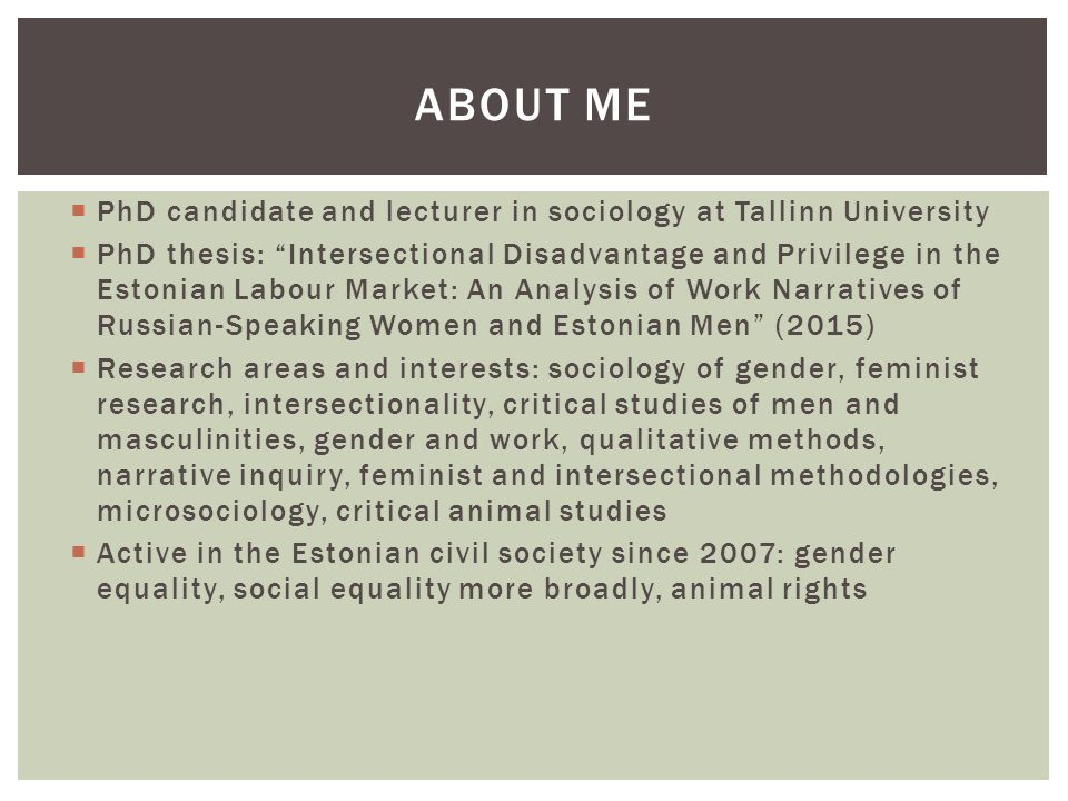 phd thesis sociology of education View previous graduate degrees awarded view sociology (sociology, may 2016) thesis assistant professor, harvard graduate school of education and.