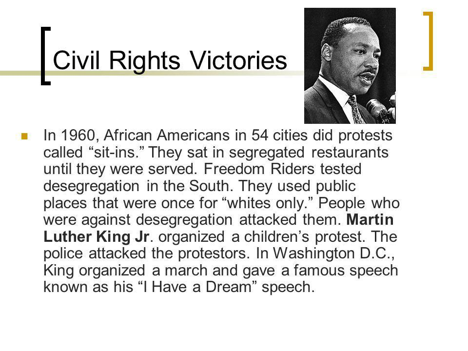 Civil Rights Victories