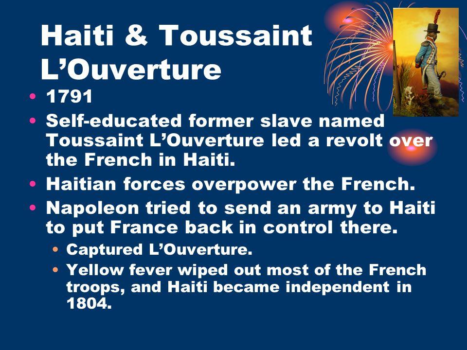 Haiti & Toussaint L'Ouverture