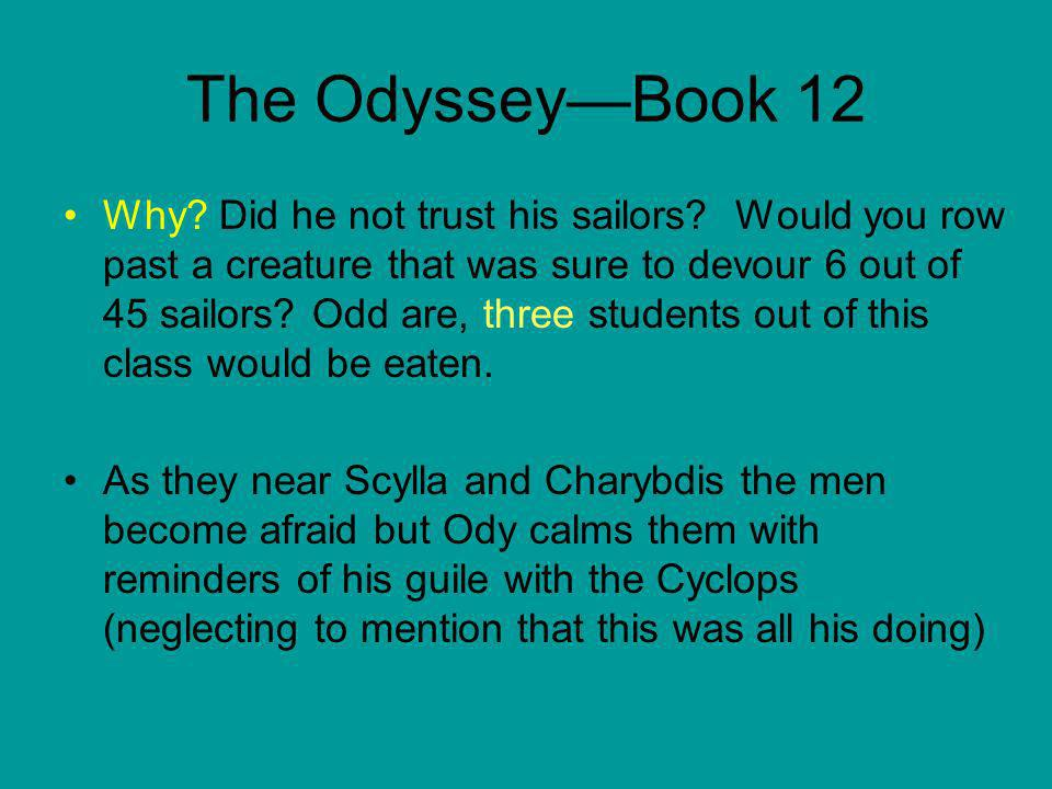 The Odyssey—Book 12
