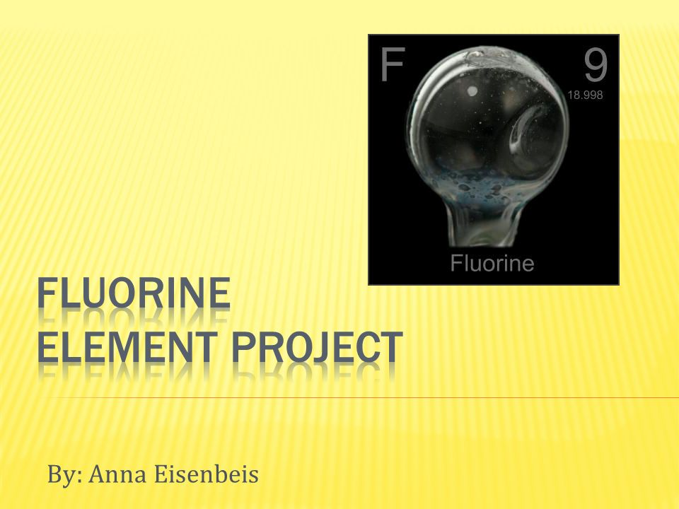Fluorine Element Project