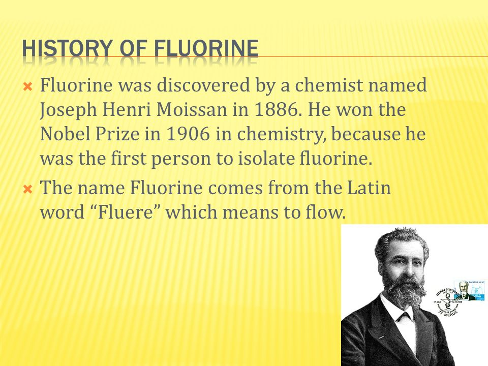History of Fluorine