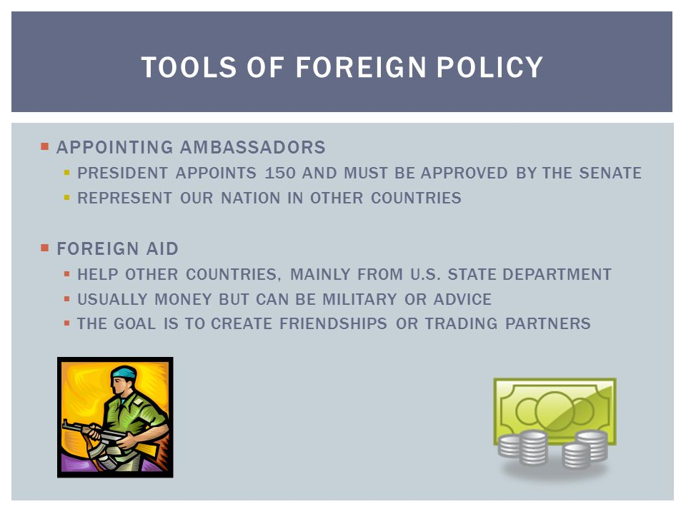 tools of foreign policy pdf