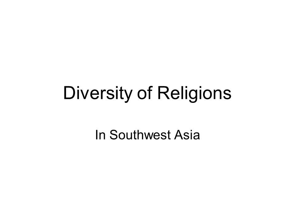 Diversity of Religions