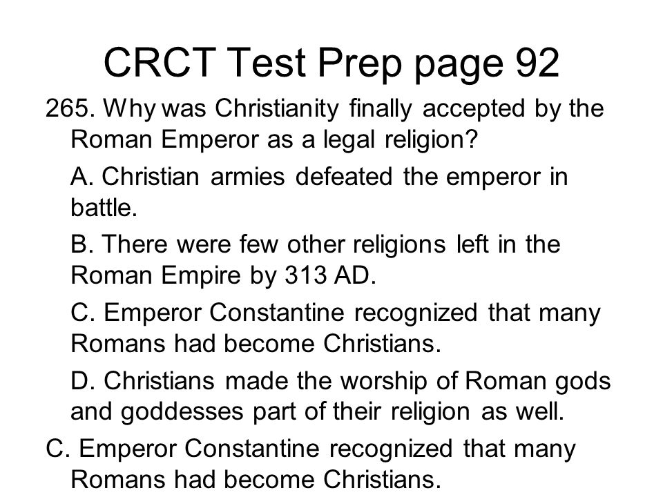 CRCT Test Prep page 92