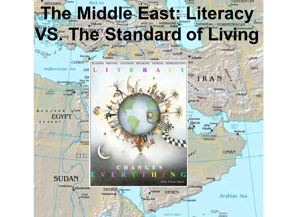 The Middle East: Literacy VS. The Standard of Living