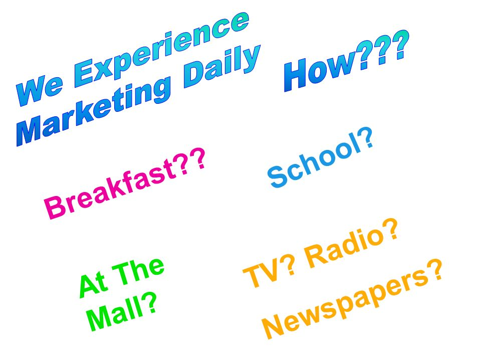 School Breakfast TV Radio At The Mall Newspapers We Experience