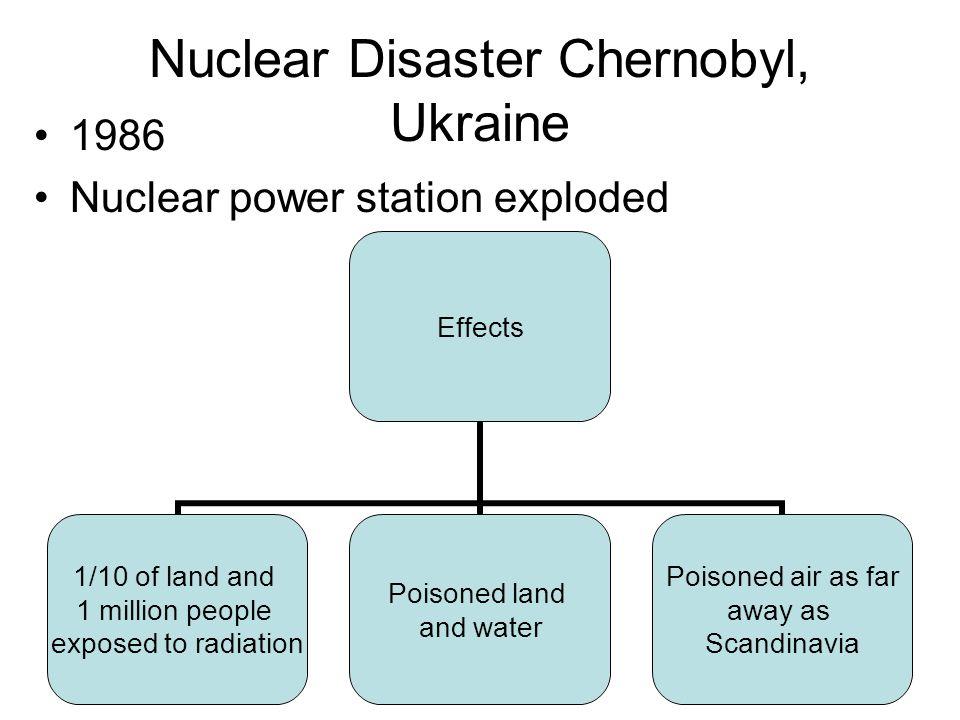 Nuclear Disaster Chernobyl, Ukraine