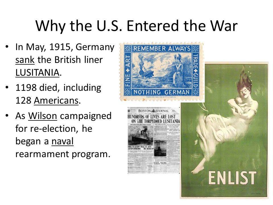 Why the U.S. Entered the War