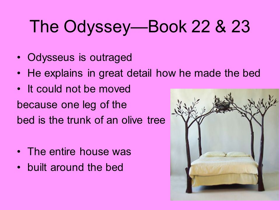 The Odyssey—Book 22 & 23 Odysseus is outraged