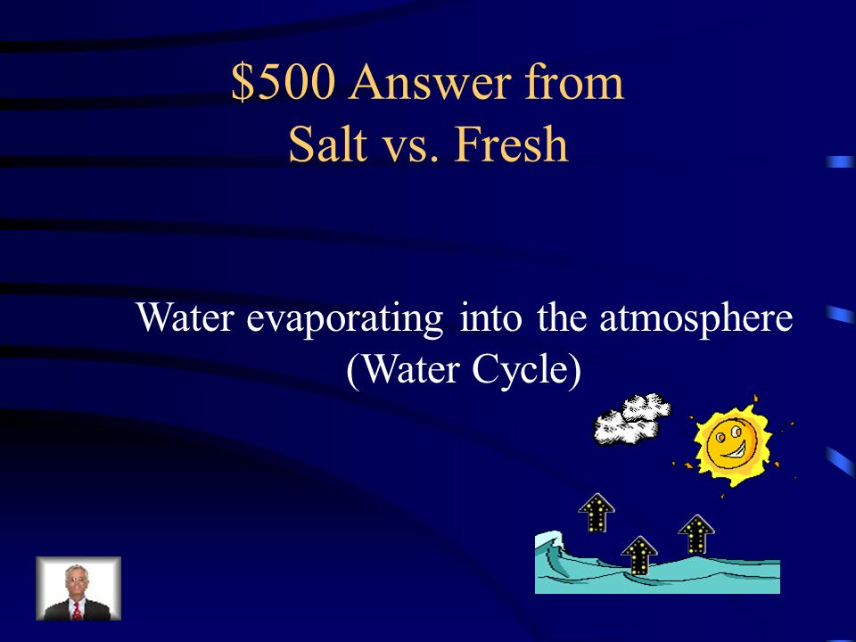 $500 Answer from Salt vs. Fresh