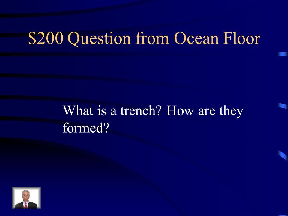 $200 Question from Ocean Floor