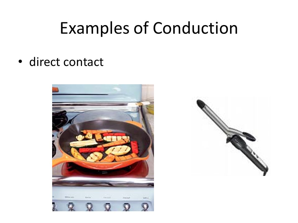 Examples of Conduction