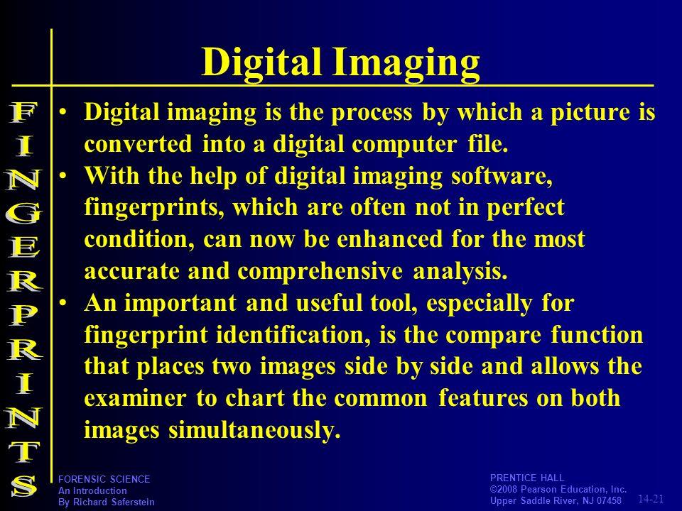 Digital Imaging FINGERPRINTS