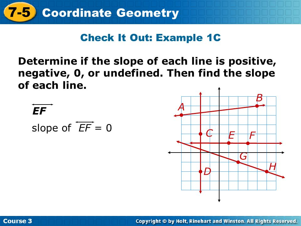 7-5 Coordinate Geometry Check It Out: Example 1C
