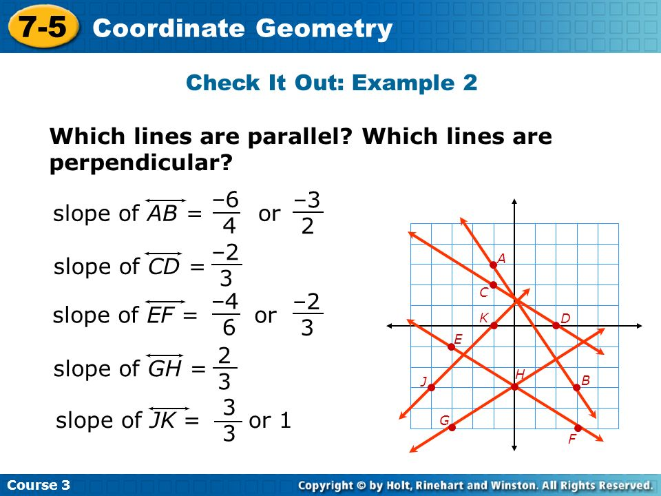 7-5 Coordinate Geometry Check It Out: Example 2