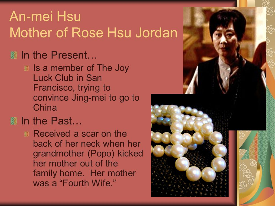 Mother Daughter Relationship in The Joy Luck Club :: The