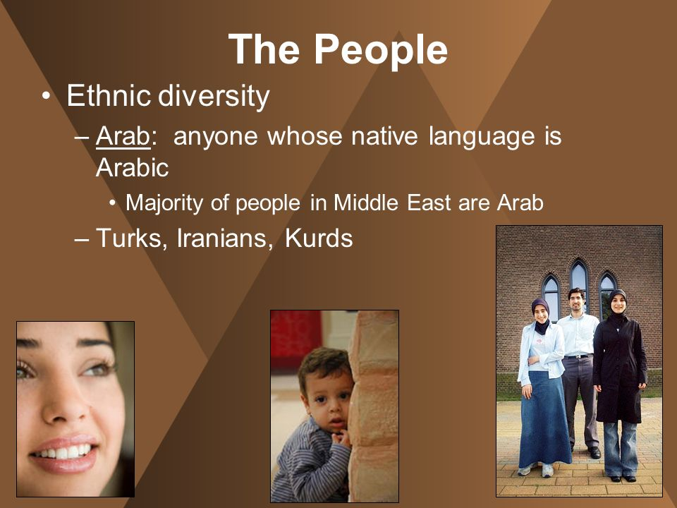 The People Ethnic diversity