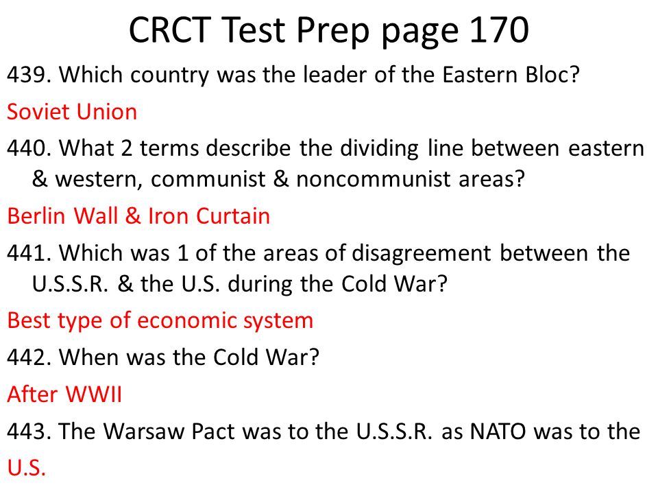 CRCT Test Prep page 170