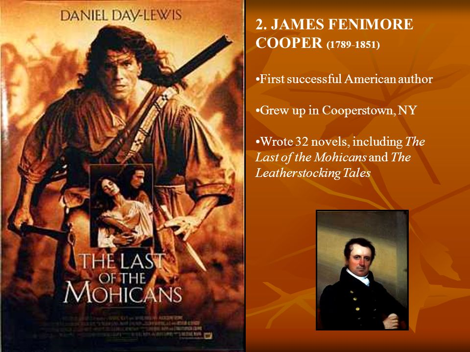 2. JAMES FENIMORE COOPER (1789-1851)