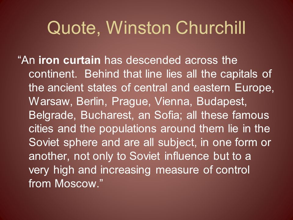 Quote, Winston Churchill