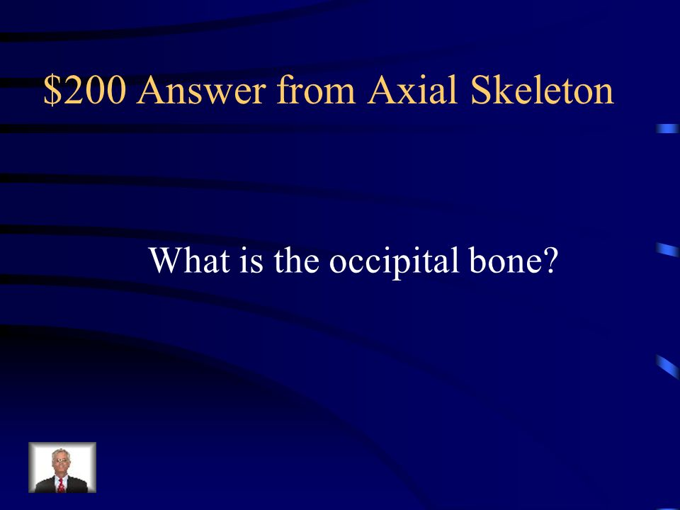$200 Answer from Axial Skeleton