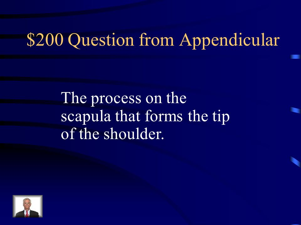 $200 Question from Appendicular