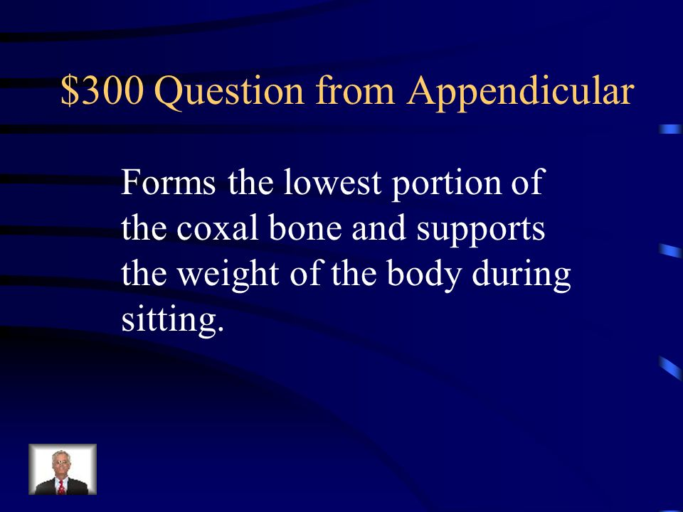 $300 Question from Appendicular