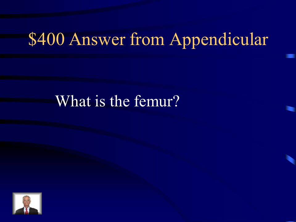 $400 Answer from Appendicular