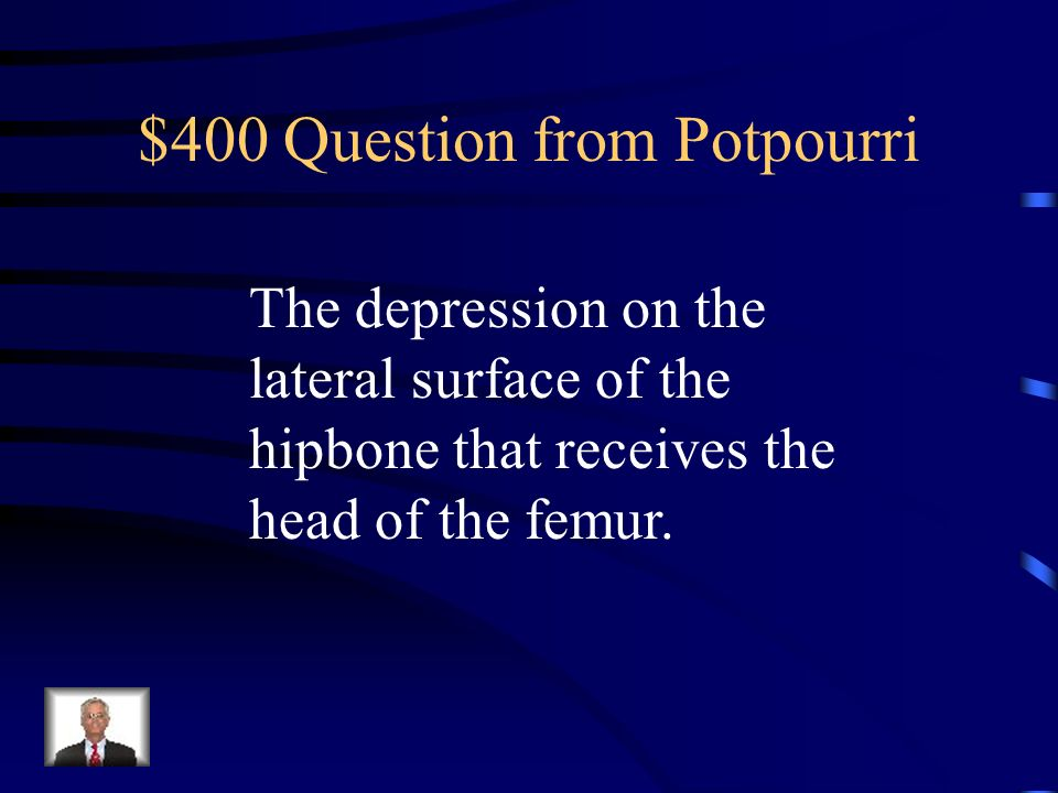 $400 Question from Potpourri