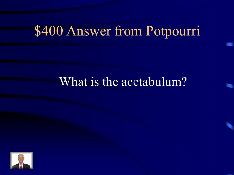 $400 Answer from Potpourri
