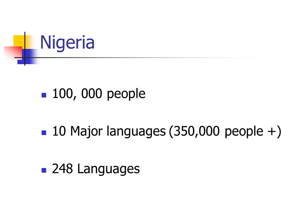 the population and languages spoken in nigeria Nigeria is a multi lingual group of states consisting of over five hundred spoken languages from hausa to igbo, yoruba, ibibio, fulani, edo, kanuri, efik, fulfulde and several other in hundreds while this are all living languages it is believed that about seven to nine other languages formally spoken in the country had gone extinct.