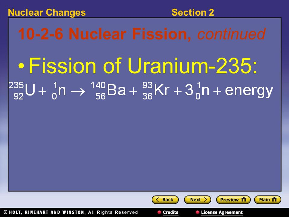 10-2-6 Nuclear Fission, continued