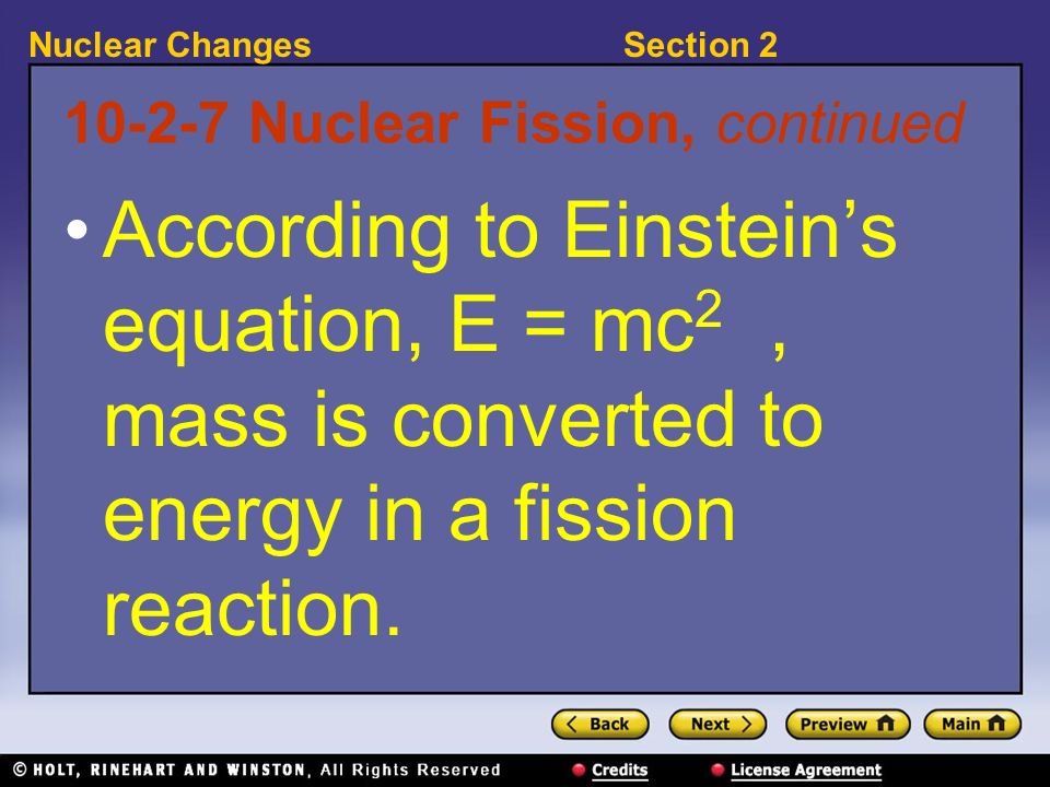 10-2-7 Nuclear Fission, continued