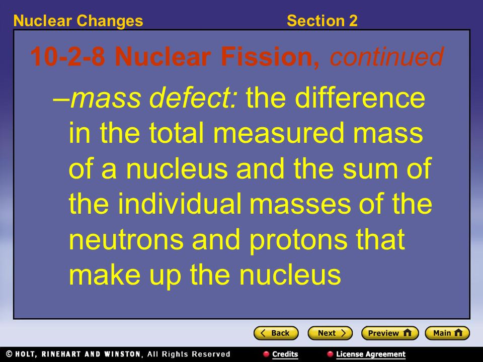 10-2-8 Nuclear Fission, continued