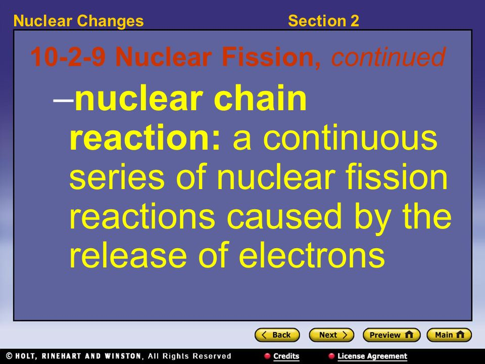 10-2-9 Nuclear Fission, continued