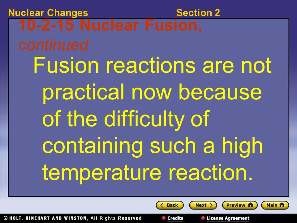 10-2-15 Nuclear Fusion, continued
