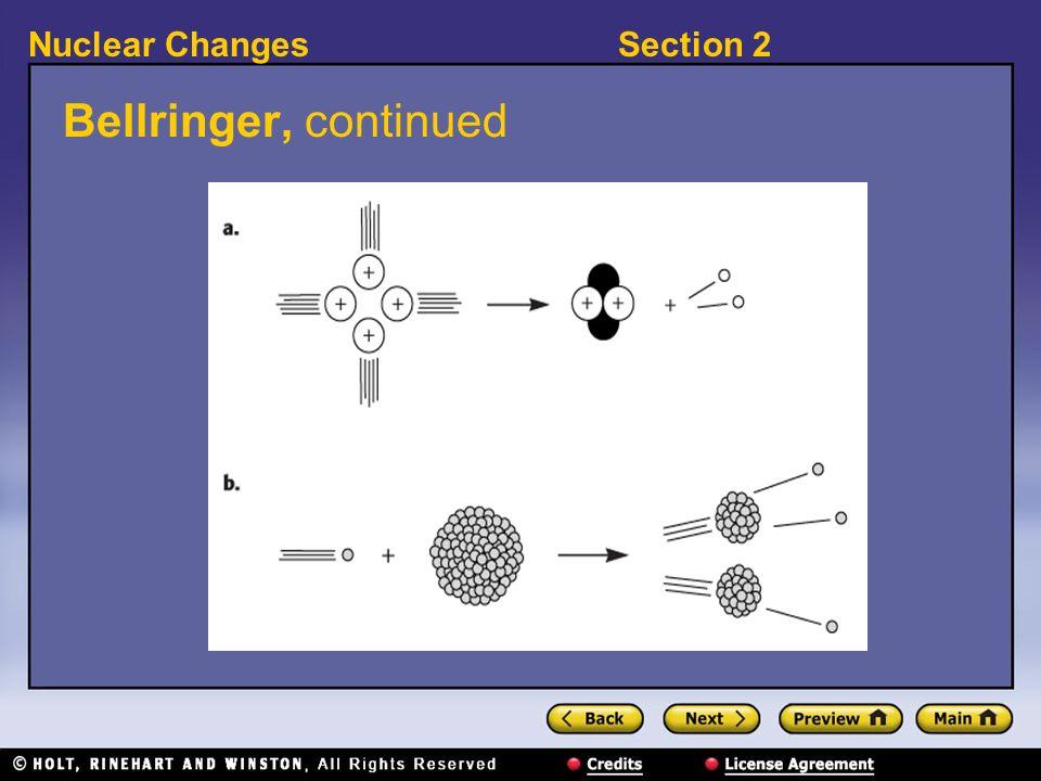 Bellringer, continued
