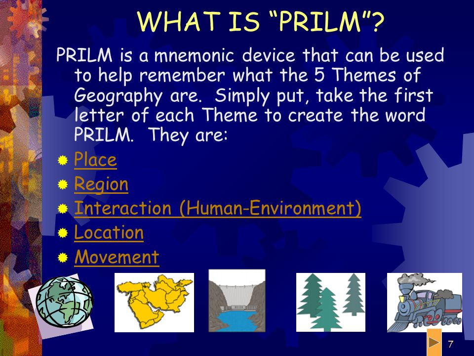 WHAT IS PRILM